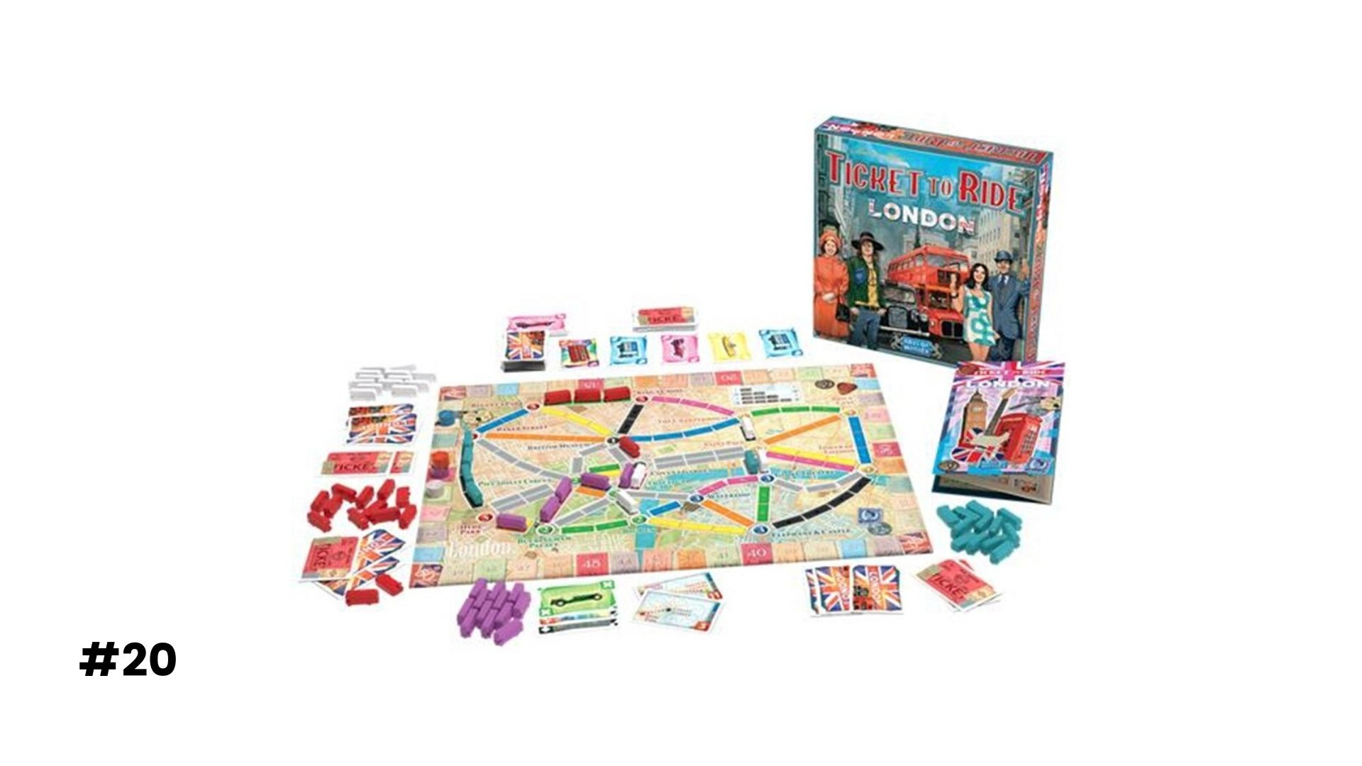 #20 Ticket to Ride: London